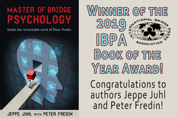 2019 IBPA Book of the Year: Master of Bridge Psychology