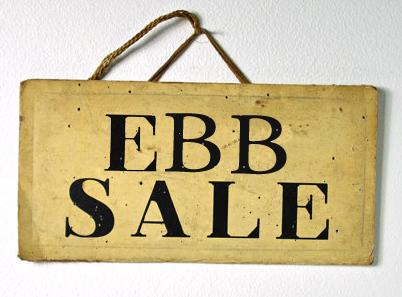 EBB SALE